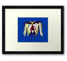 Yellow King Servant Framed Print