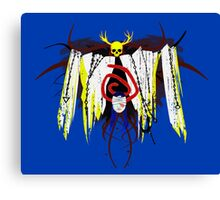 Yellow King Servant Canvas Print