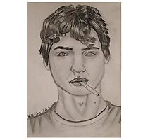 Augustus Waters Photographic Print