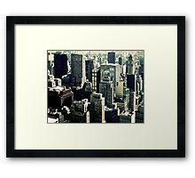 NYC Blocks Framed Print