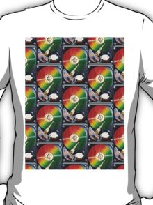 Computer Hard Drive Collage T-Shirt