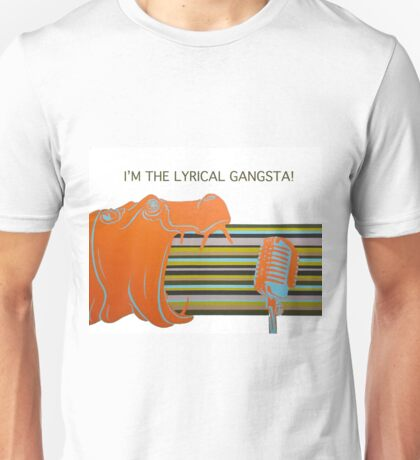 I'm The Lyrical Gangsta Unisex T-Shirt