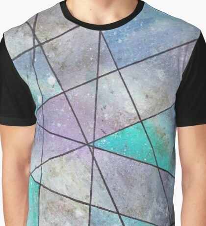 Acrylic and Stain Verticle Graphic T-Shirt