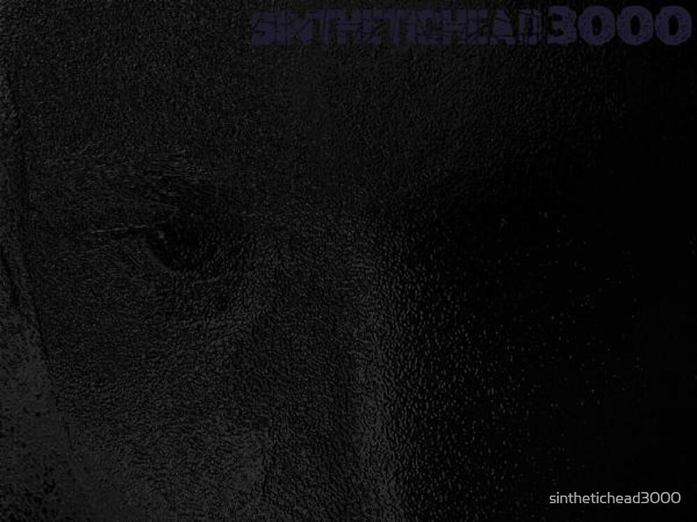 SINtheticHead (self portrait) by sinthetichead3000