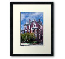 Historic Savannah Mansion Framed Print