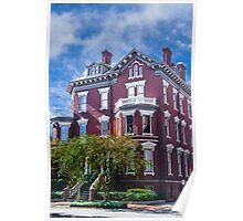 Historic Savannah Mansion Poster