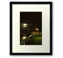 Shorncliffe Pier, Queensland Framed Print