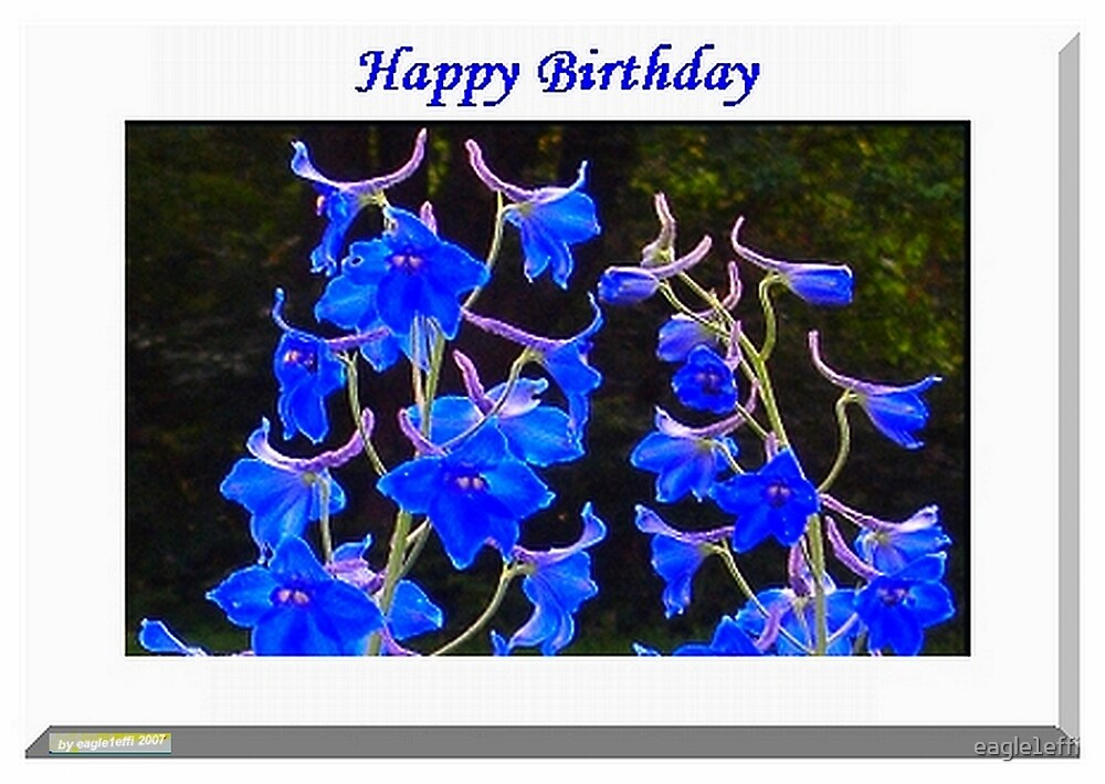 Happy Birthday card by eagle1effi