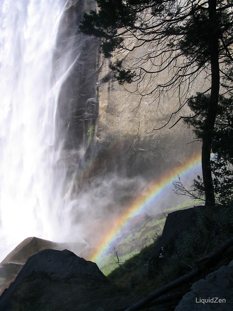 Vernal Falls Rainbow by LiquidZen