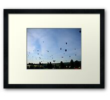 Morning flight... Framed Print