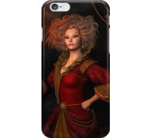 Leo zodiac fantasy circle iPhone Case/Skin