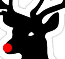 The Reindeer Games (black) Sticker