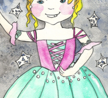 Maija in the nutcracker Balet Sticker
