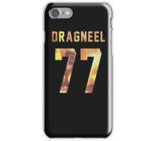 Dragneel jersey #77 iPhone Case/Skin