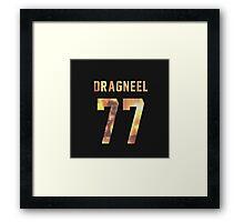 Dragneel jersey #77 Framed Print