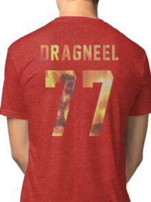 Dragneel jersey #77 Tri-blend T-Shirt
