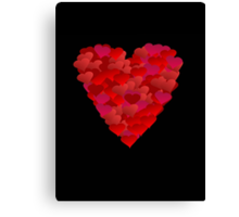 Heart of Hearts (iPhone/iPod case) Canvas Print