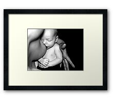 mother hood Framed Print