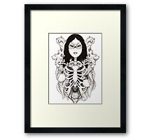 Arachne - Spider Woman Framed Print