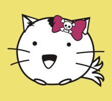 Fuzzballs Kitten Bow Kids Tee