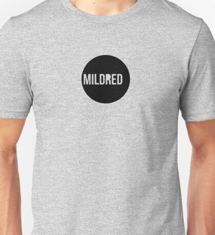 Mildred Logo Tee (Soft Butch Version) Unisex T-Shirt