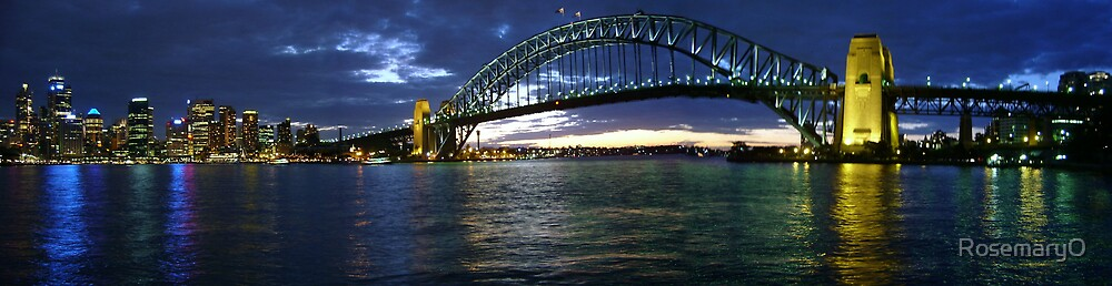 Sydney Harbour Bridge by RosemaryO