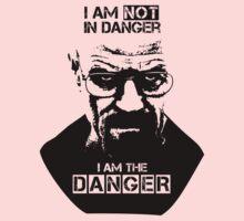 Breaking Bad - Heisenberg - I am the danger! T-shirt Kids Clothes
