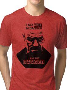 Breaking Bad - Heisenberg - I am the danger! T-shirt Tri-blend T-Shirt