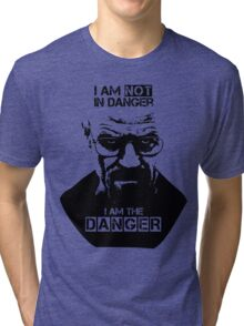Breaking Bad - Heisenberg - I am the danger! T-shirt Tri-blend T-Shirt
