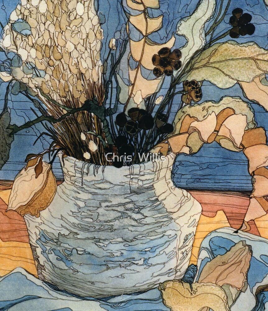 Dried Arrangement by Chris  Willis