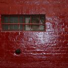 """Melbourne Painted Brick Wall Photograph  - """"Red"""" by CDCcreative"""
