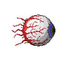 Terraria Eye of Cthulhu Photographic Print
