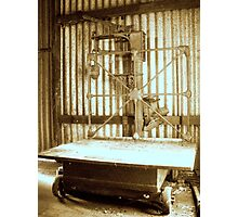 Old wool Scales Photographic Print