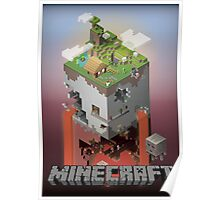 Minecraft - world of blocks Poster