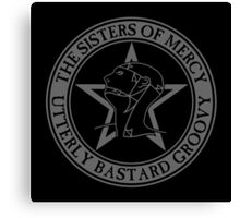 The Sisters of Mercy - The World's End - Utterly Bastard Groovy Canvas Print