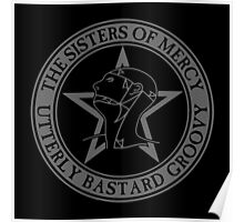 The Sisters of Mercy - The World's End - Utterly Bastard Groovy Poster