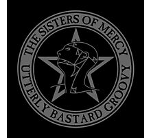 The Sisters of Mercy - The World's End - Utterly Bastard Groovy Photographic Print