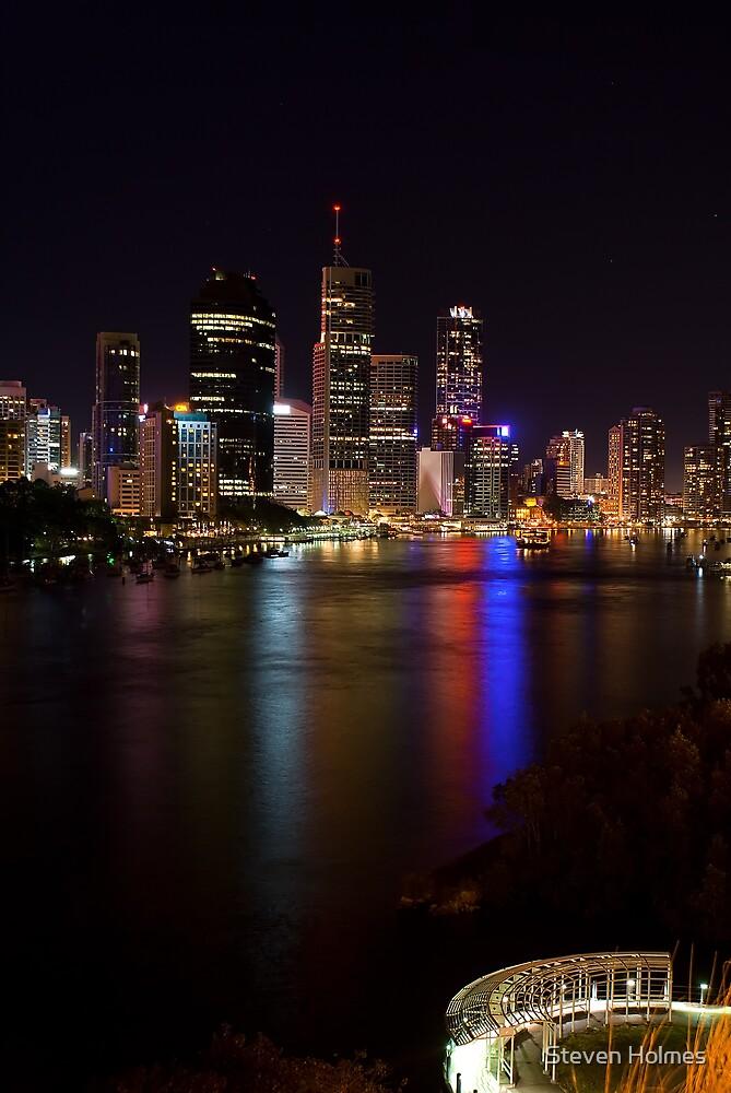 Brisbane City by Steven Holmes