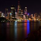 Brisbane City by Steven Holmes