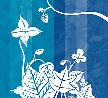 Enchantment Series - Blue by Jasna Bogdan