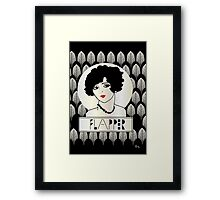 1920s FLAPPER GIRL Framed Print