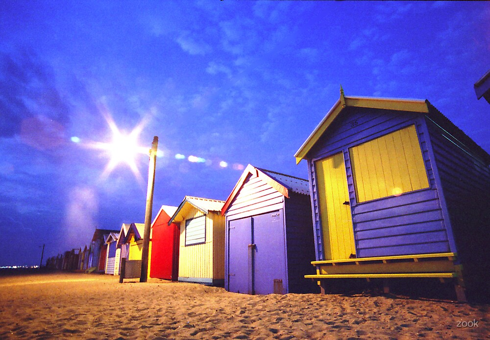 Beach Boxes by zook
