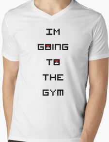 I'm Going to the Gym (Pokemon) Mens V-Neck T-Shirt