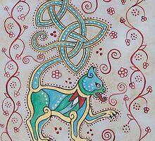 Celtic Cattus #1 by Beth Clark-McDonal