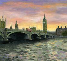 Westminster bridge by Mariana Po