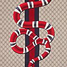 SNAKE GUCCI INSPIRED CASE by MeredithGoodin