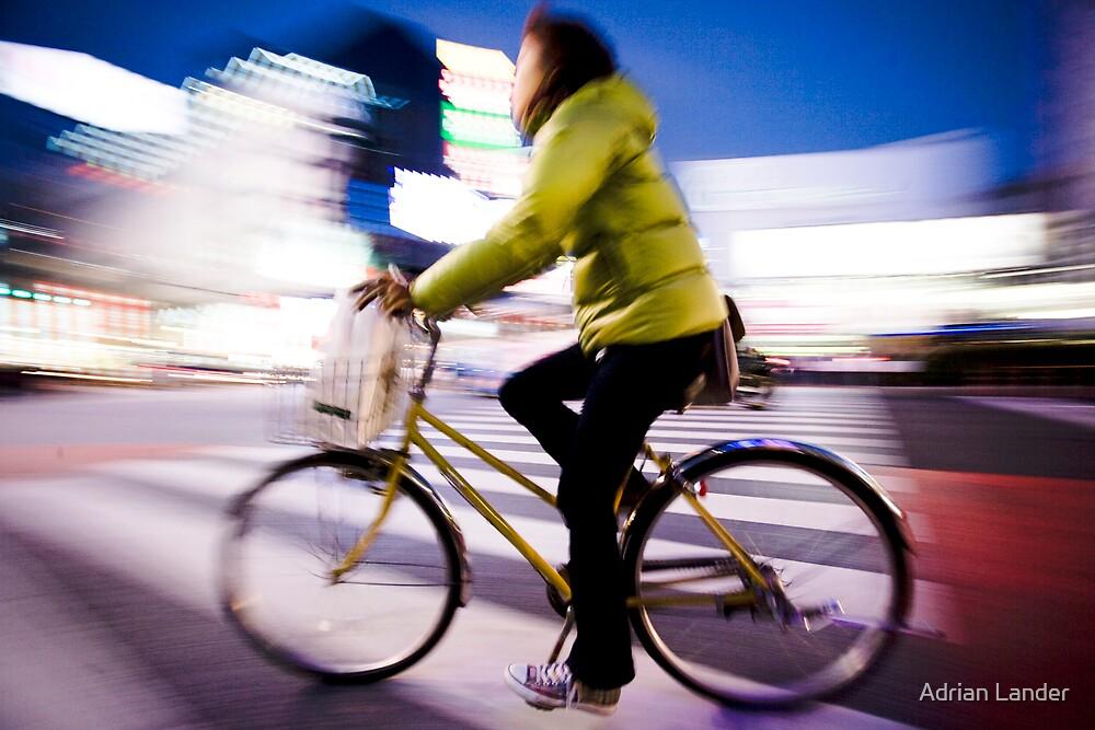 tokyo bike by Adrian Lander