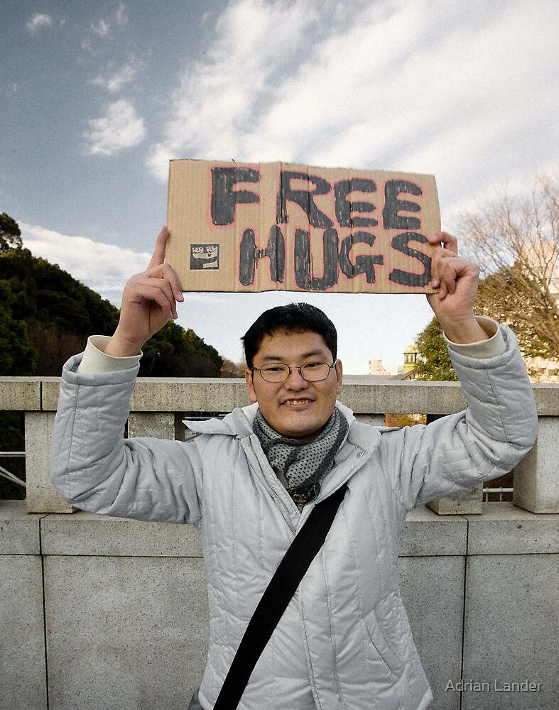 FreeHugs by Adrian Lander