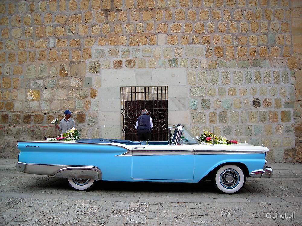 Wedding Car, Oaxaca, Mexico by Cryingbull