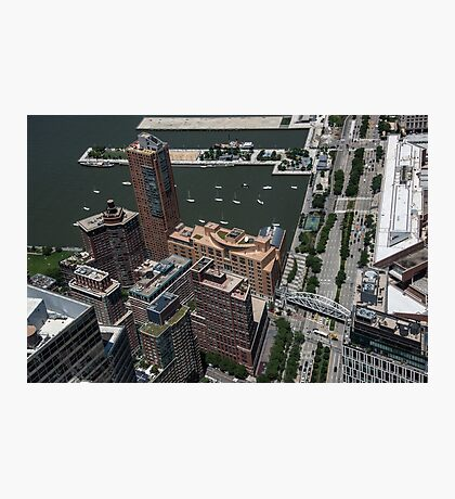 World Trade Center NYC New York City Travel Water Architecture  buildings sky  Photographic Print